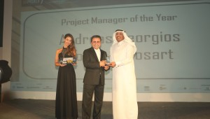Mr. Andreas Iliovits awarded 'Outstanding Achievement in Project Management'